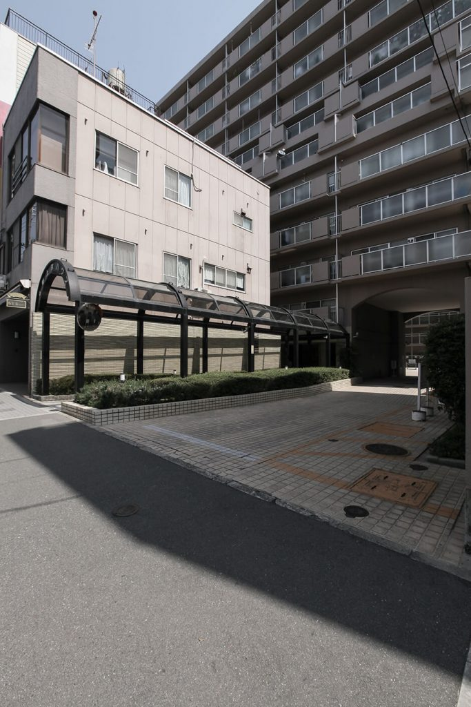 京都上京ハウス405号室の外観