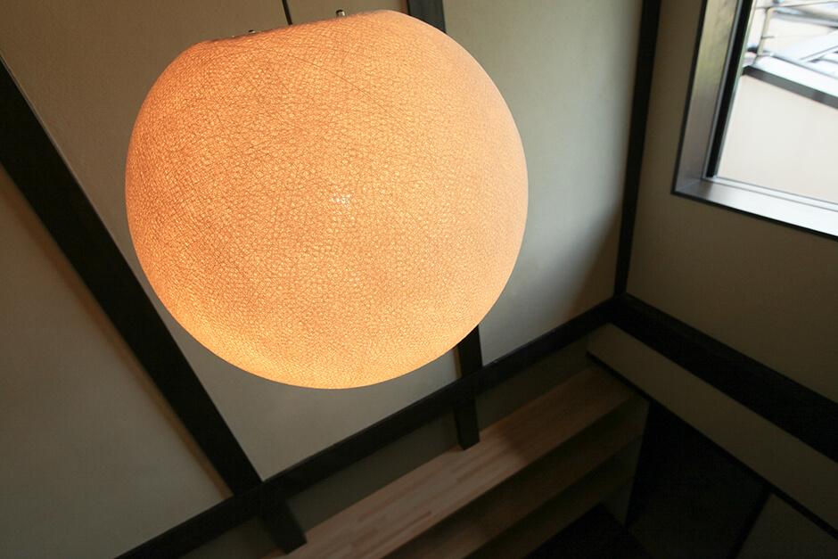 リノベーション京町家物件の照明